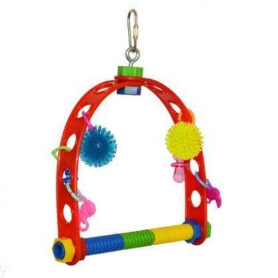 jouet perchoir perruche et conure