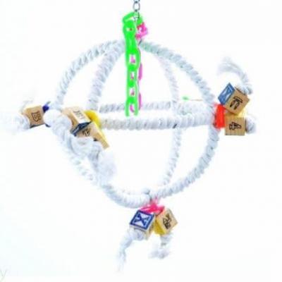 boule corde perchoir