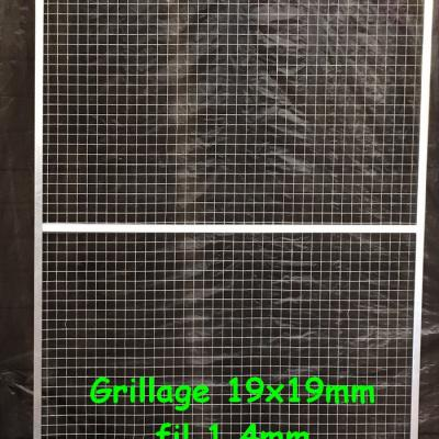 Panneau simple 1x2 maille 19x19 fil 1 4