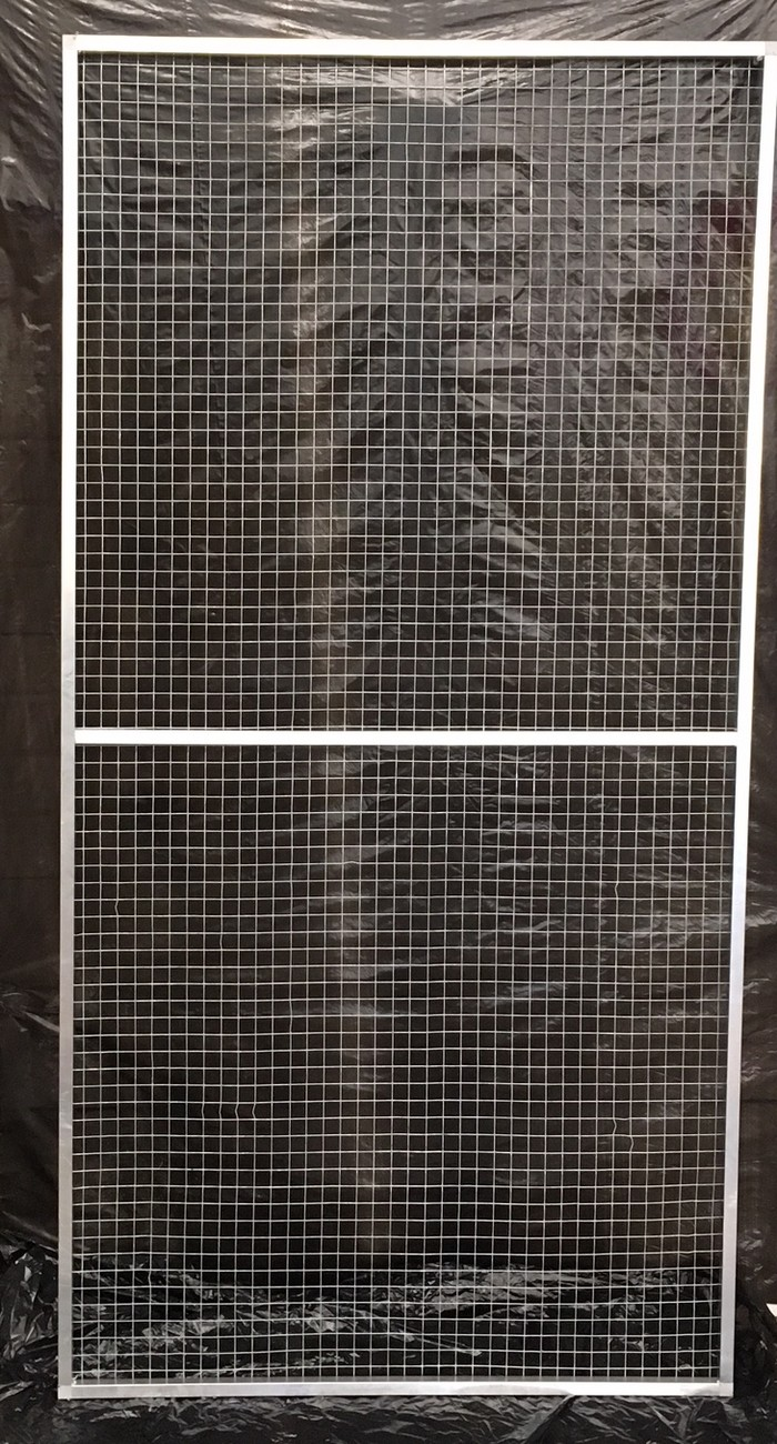 Panneau simple 1x2 maille 25x25 fil 1 4