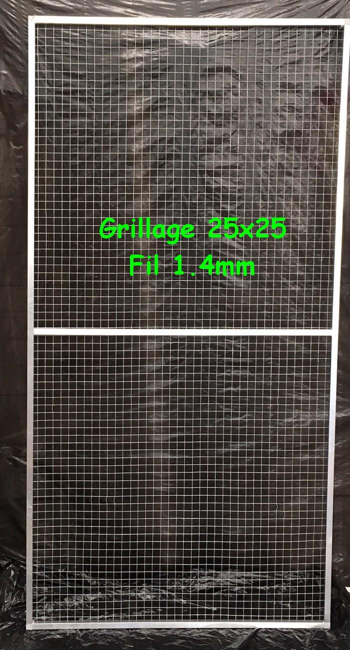 Panneau simple 1x2 maille 25x25 fil 2