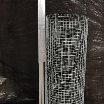Panneau simple 1.02x2m en kit