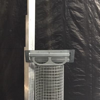 Panneau porte avec plateau 1.02x2m en kit 13x13