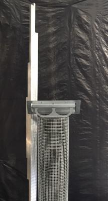 Panneau porte avec plateau 1.02x2m en kit