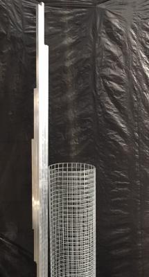 Panneau porte simple 1.02x2m en kit